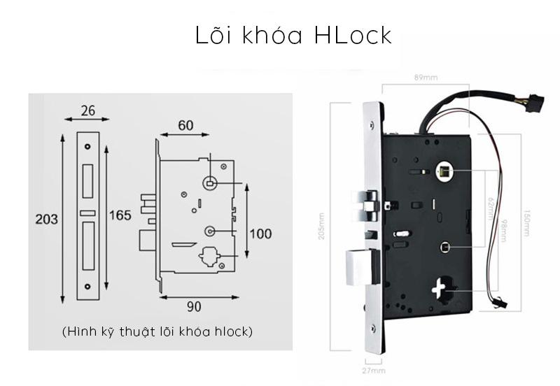 loi khoa hlock - Khóa thẻ từ khách sạn HL8825