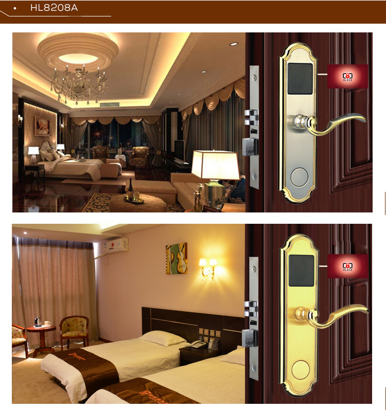 hl 8208A - Khóa thẻ từ khách sạn HL8208A